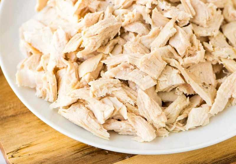 How_much_is_1-cup_of_shredded_chicken