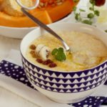 Creamy_corn_grits_with_butternut_squash_and_bananas