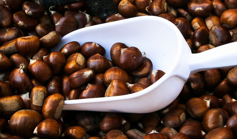 How_much_chestnuts_are_in_a_cup