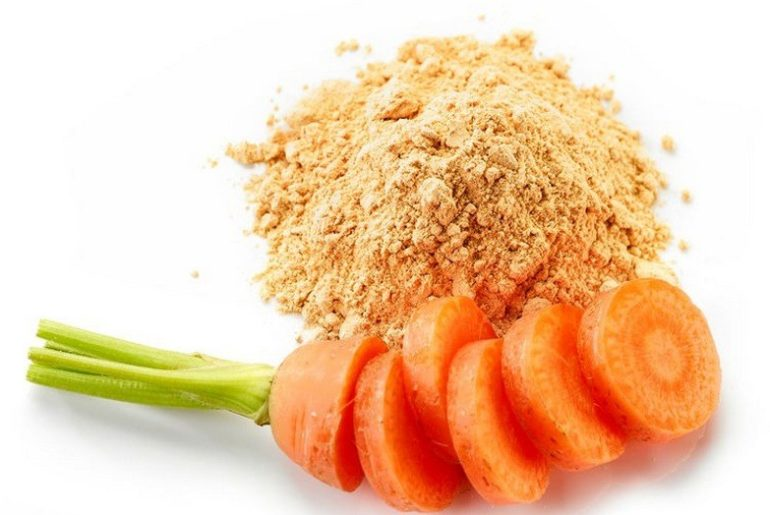 How_much_carrot_powder_is_in_a_spoon