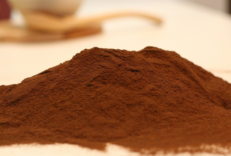 How_much_chocolate_powder_is_in_a_spoon