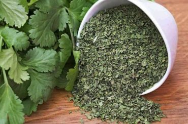 How_much_dried_cilantro_is_in_a_spoon