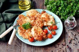 Cheesy chicken cutlets