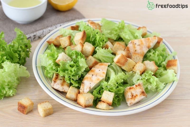 Step_12 How to make Caesar salad