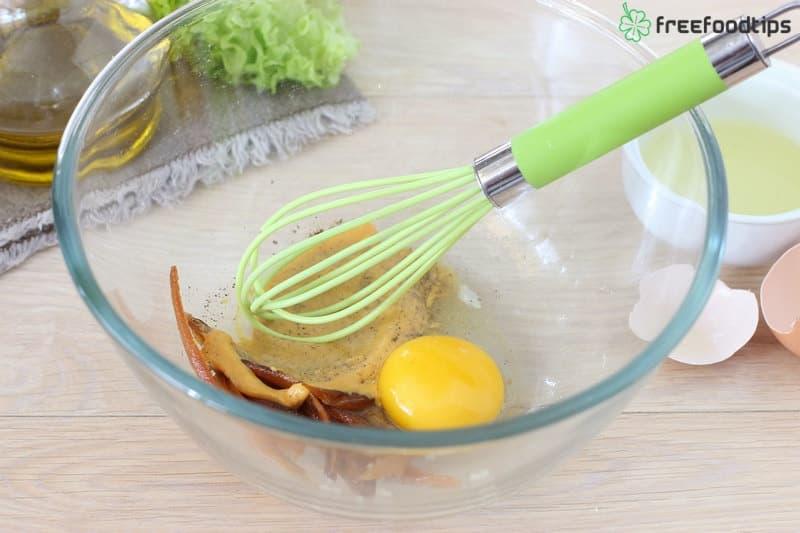 Step_8 How to make Caesar salad dressing