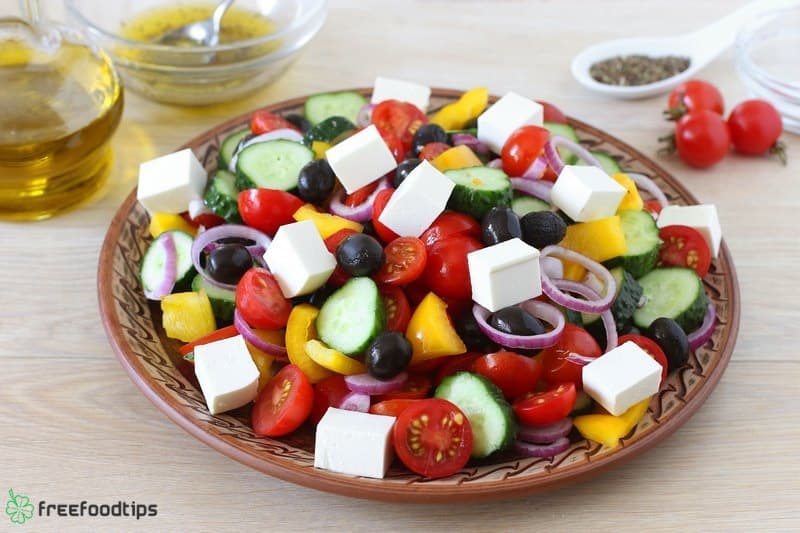 Step_8 How to make Greek salad