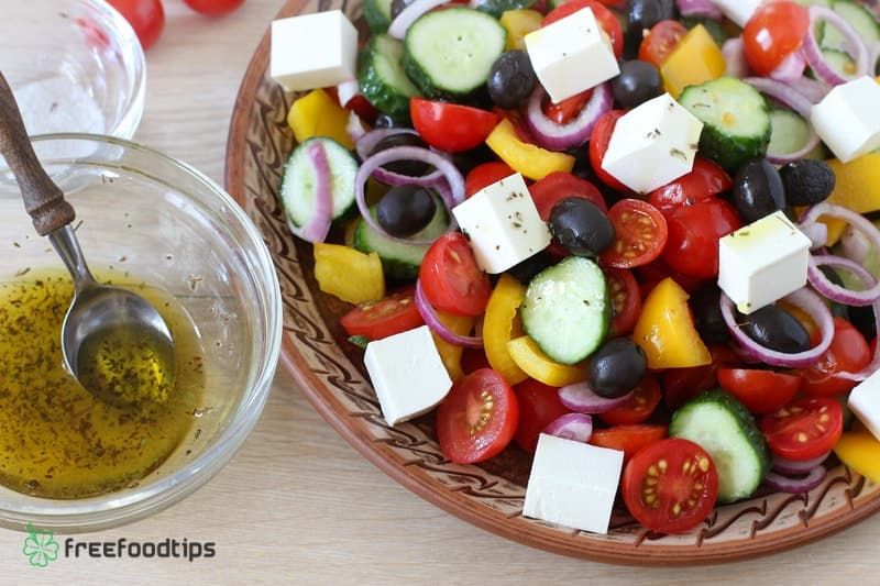 Step_9 How to make Greek salad