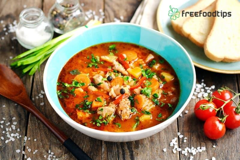 Kharcho Georgian Soup Recipe