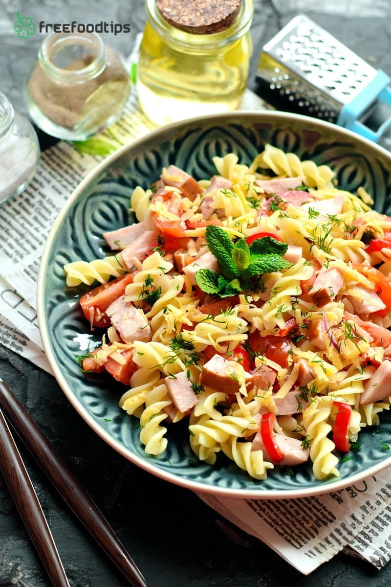 Perfect cold pasta salad