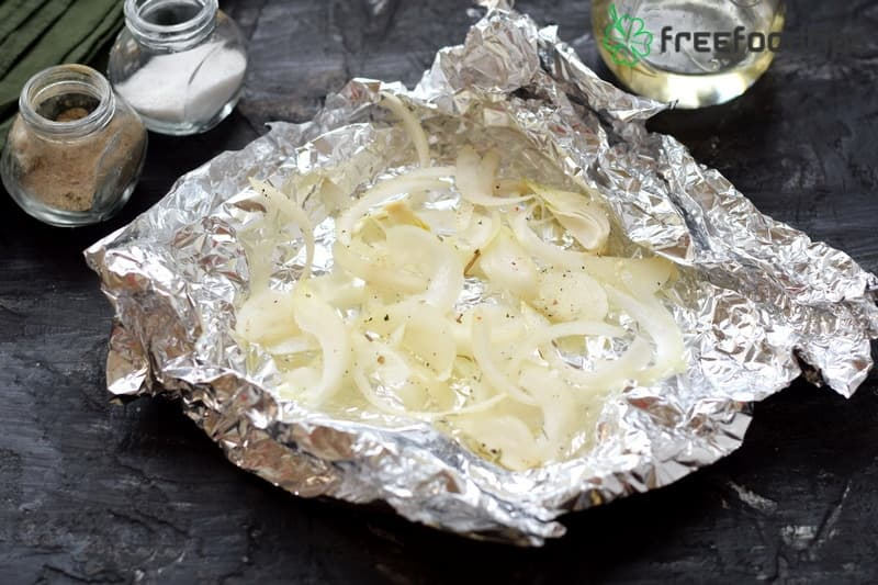 Step_2 How to bake catfish steaks