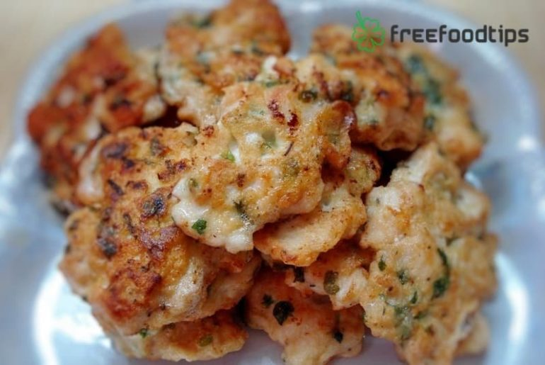 Chicken Fritters Recipe