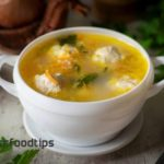 Soup with Chicken Meatballs