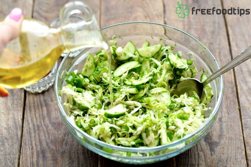 Step_7 How to make cabbage cucumber slaw