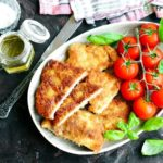Battered pork chops