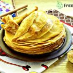 Crepes with basic batter recipe