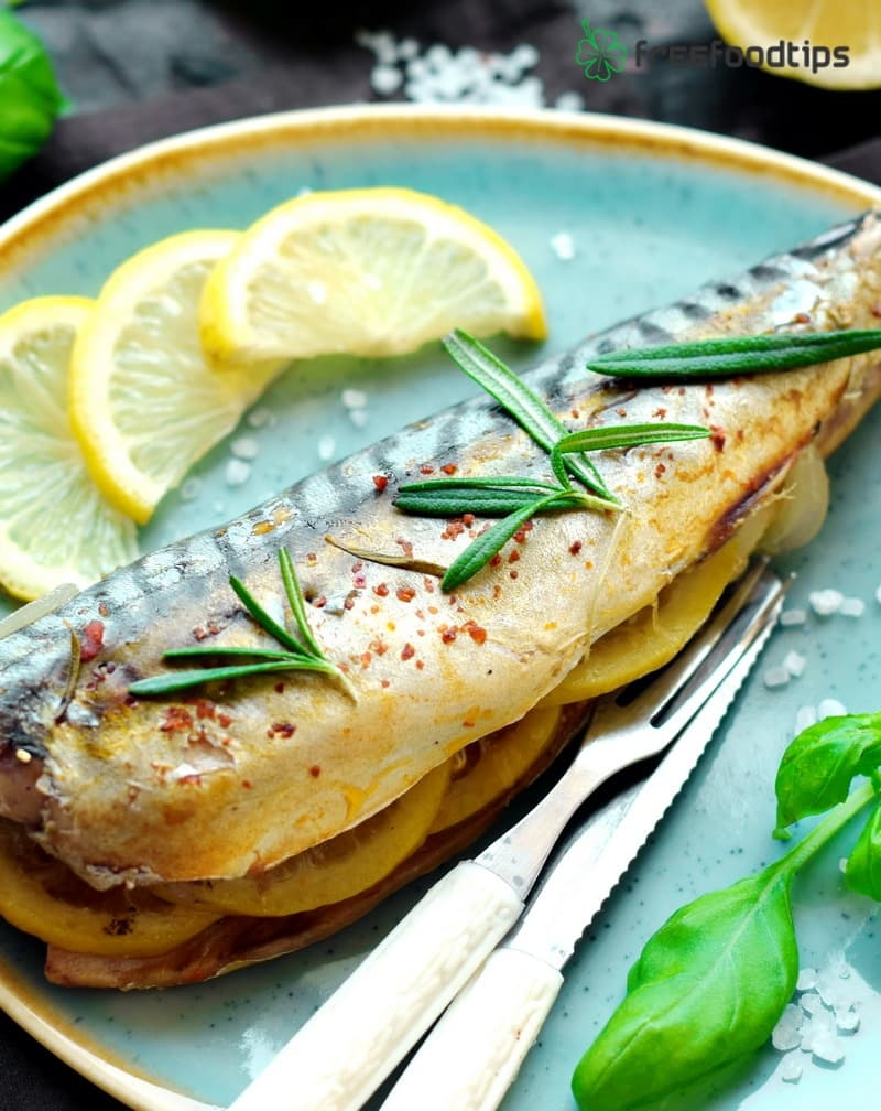 Easy roasted mackerel in the oven recipe