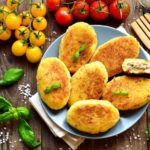 Meat Stuffed Potato Croquettes