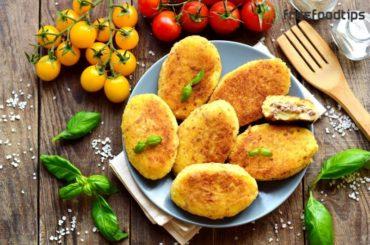 Meat Stuffed Potato Croquettes