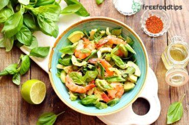 Shrimp Avocado Lime Salad