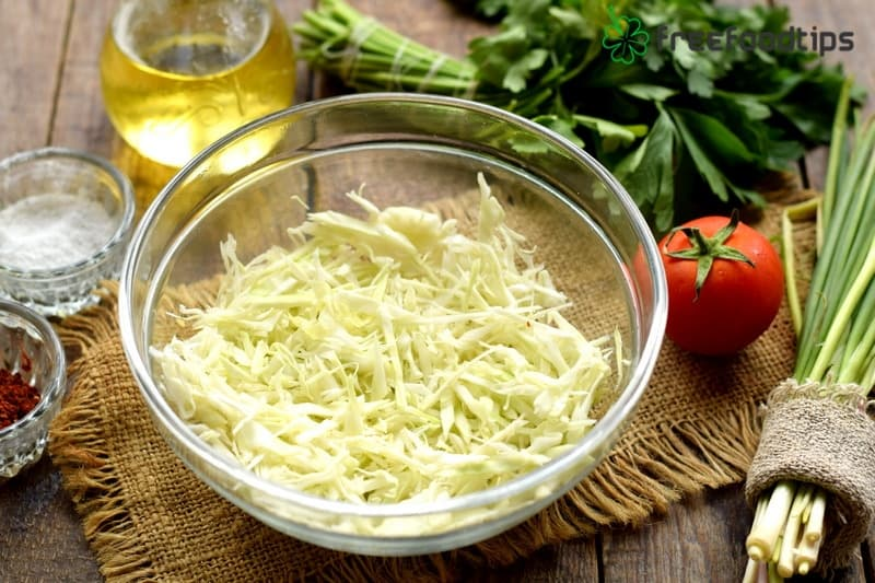 Step_1 How to make delicious cabbage salad