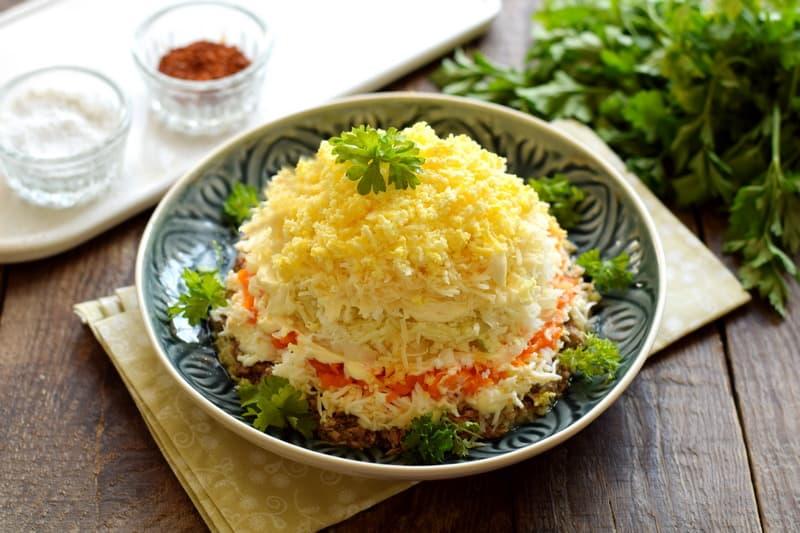 Mimosa salad recipe