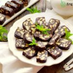 No-bake chocolate salami cookies