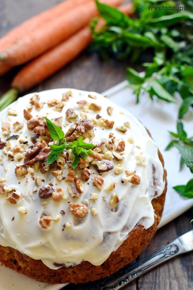 Step_9 How to make carrot cake with nuts