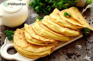 Tatar Tortillas with Mashed Potato Filling Recipe