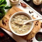 Creamy Mushroom Sauce Recipe