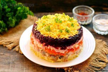 Dressed Herring Salad Recipe