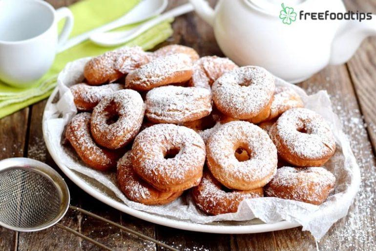 Fried Doughnut Recipe