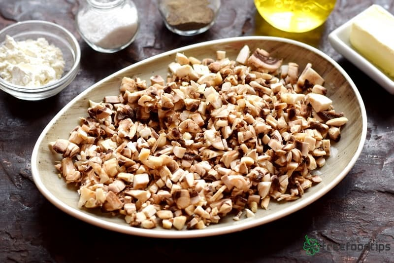 Step_3 How to make easy mushroom sauce