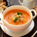 Butternut Squash Soup with Cream