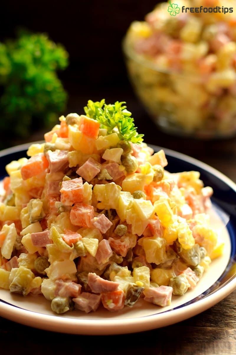 Russian Olivye Salad