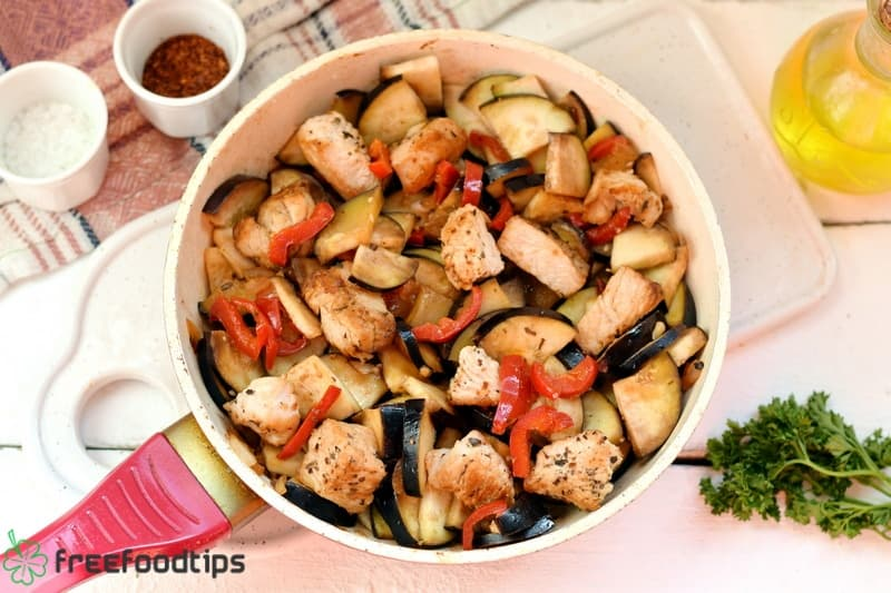 Step_4 How to cook turkey with vegetables