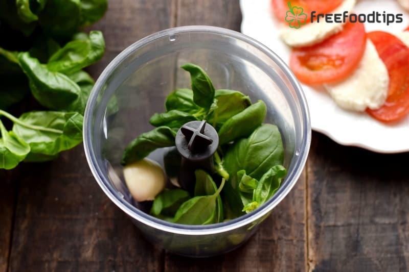 Step_4 How to make Caprese salad