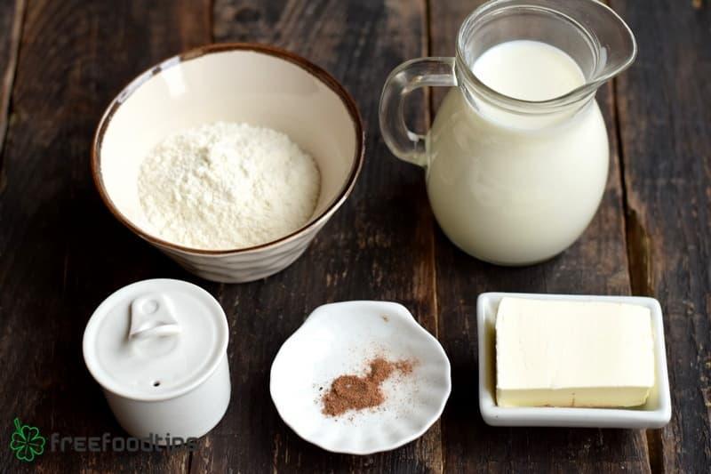 Bechamel Sauce Ingredients