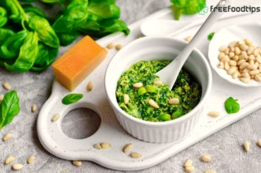 Homemade Pesto Sauce Recipe