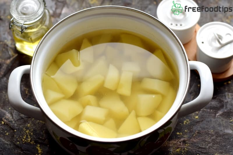 Step_1 How to make casserole with mashed potato and minced meat
