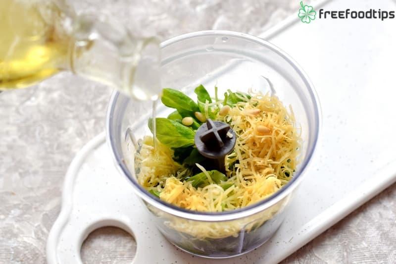 Step_3 How to make Pesto at home