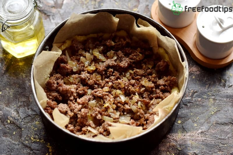 Step_7 How to make casserole with mashed potato and minced meat
