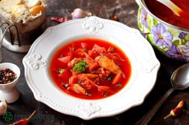 Ukraininan Borscht Recipe