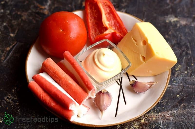 Crab Salad Ingredients