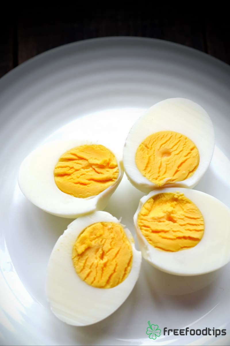 Hard Boiled Eggs Simmering Method Recipe