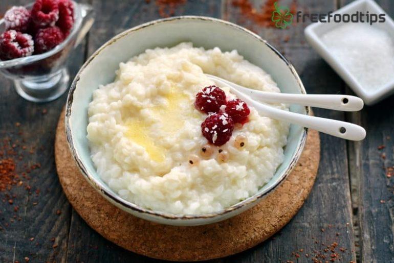 Rice Porridge with Milk