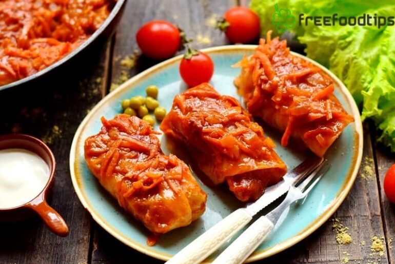 Easy Stuffed Cabbage Rolls Recipe