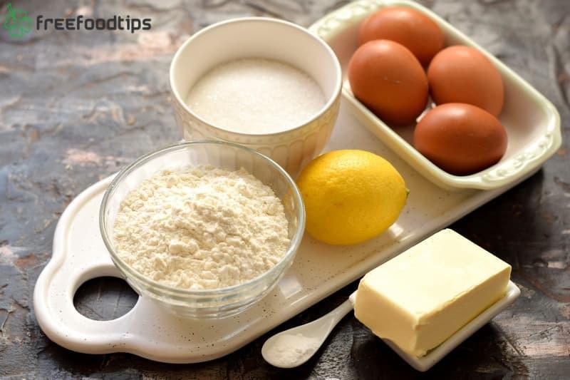 Easy Lemon Cake Ingredients