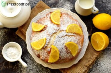How to make lemon cake at home