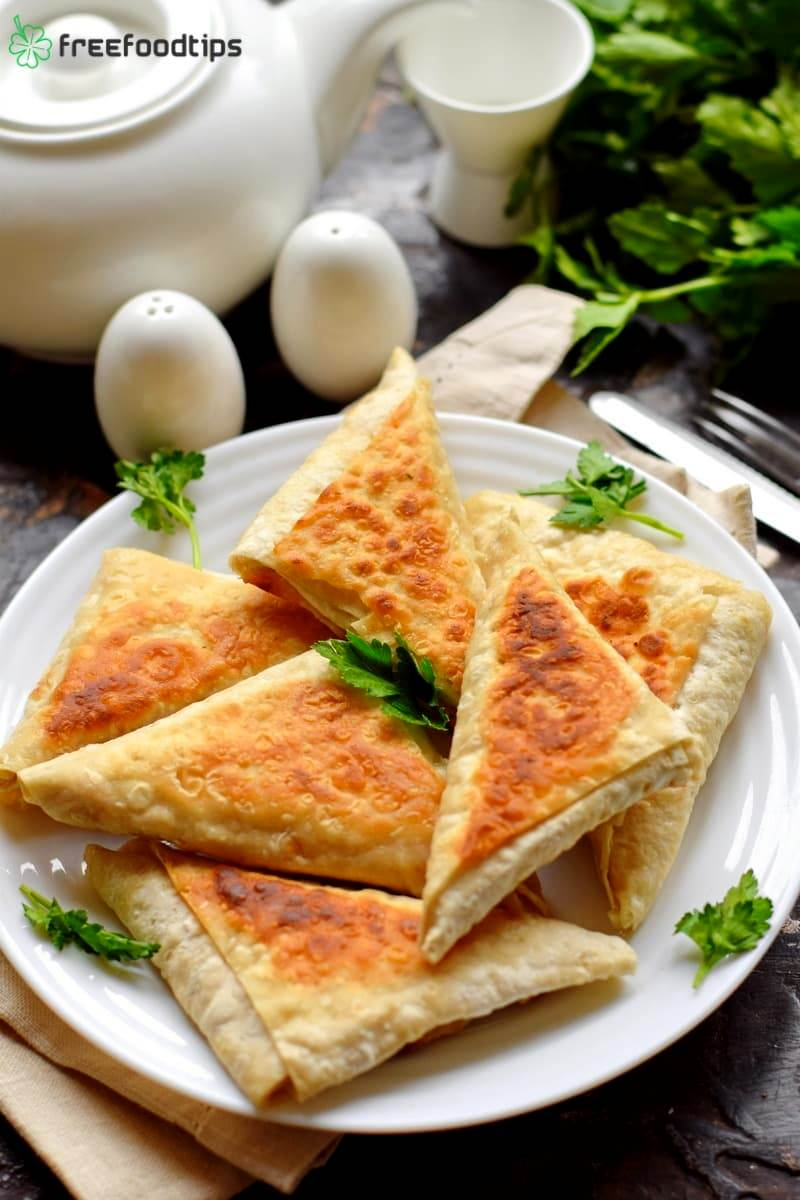Fried Flatbread Sandwidh Recipe