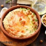 Hummus Recipe with Tahini and Garlic